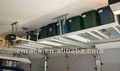 Garage de rangement plafond rack