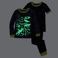 3-Piece Glow-In-The-Dark Cotton PJs3-Piece Glow-In-The-Dark Cotton PJs, 20$