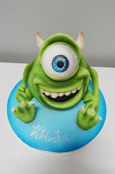 Monsters inc. Cake - http://cakesdecor.com/cakes/232150-monsters-inc-cake