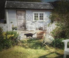 A little house in my garden Villa Catharina ♡