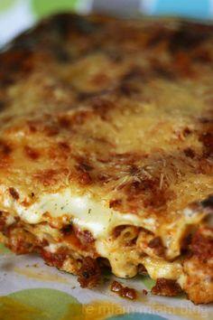 lasagnes aux merguez, by le miam miam blog