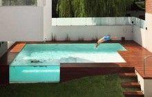 above ground pool!