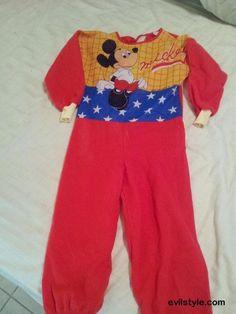 Vintage Ben Cooper MICKEY MOUSE Halloween Costume Size 3-5 - http://evilstyle.com/vintage-ben-cooper-mickey-mouse-halloween-costume-size-3-5