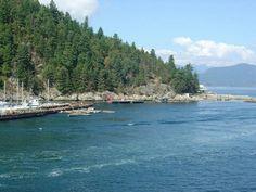 BC interior - ferry ride