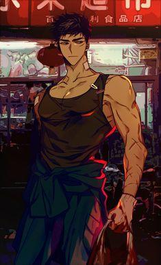 Anime Guys Shirtless, Handsome Anime Guys, Cool Anime Guys, Cute Anime Boy, Anime Boys, Character Art, Character Design, Art Handouts, Anime Boy Sketch