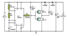 Voltage Double Circuit using Electronic Circuit Projects, Electronics Projects, Circuit Diagram, Floor Plans, Transformers, Charger, Electrum, Electronic Schematics, Circuits