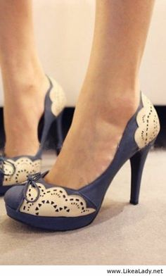 Cute blue fritz pumps - Shoes and beauty Zapatos Shoes, Women's Shoes, Me Too Shoes, Shoe Boots, Flat Shoes, Louboutin Shoes, Platform Shoes, Christian Louboutin, Oxford Shoes