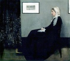 Whistler's Mother -James McNeill Whistler - Musée d'Orsay - Paris, France