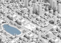 city designed by Konstantin Datz. Connect with them on Dribbble; Isometric Map, Isometric Design, Isometric Shapes, Low Poly, City Layout, City Model, Modelos 3d, Map Design, Future City