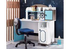 Παιδικό γραφείο Marin 1822(Πλάτος: 1.30 Ύψος: 1.28 Βάθος: 0.60) Corner Desk, Vanity, Furniture, Home Decor, Corner Table, Dressing Tables, Powder Room, Decoration Home, Room Decor