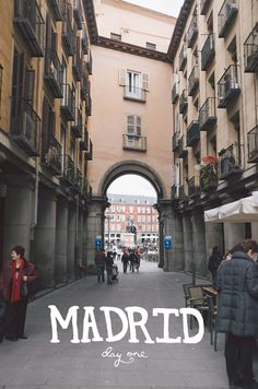 Madrid, Spain: Day One