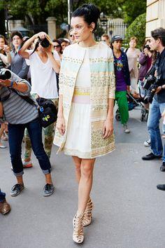 Неделя высокой моды в Париже: Streetstyle. Часть 1, Buro 24/7