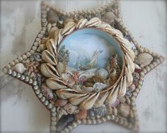 FINE SHELL ART BLOG - Shell Art Resources, News & Inspiration: Shell Artist Peggy Green Exhibiting at Texas Rose Antique Show, Round Top, Te...