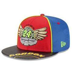 New Era Jeff Gordon Red Brickyard Enjoy the Ride 9FIFTY Adjustable Hat  Nascar Apparel bd256c4c8bda