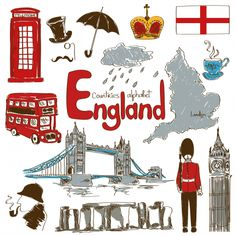 England Culture Map Printable - KidsPressMagazine.com