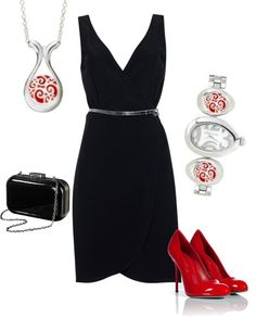 """Scarlett Lace KJP655"" by jewelpop on Polyvore"