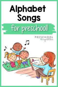 Teach the ABC's with these alphabet songs! Using songs to teach is a great way to make learning FUN! ABC songs are a great way to teach letters and build early literacy skills. Abc Songs, Alphabet Songs, Preschool Alphabet, Preschool Writing, Preschool Songs, Alphabet Letters, Abc Song For Kids, Music Activities For Kids, Letter Activities