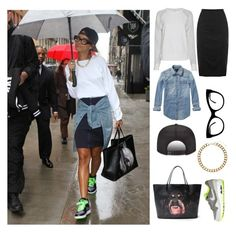 """""""Get The Look - Rihanna"""" by fgms ❤ liked on Polyvore featuring Equipment, Warehouse, Scotch & Soda, Topshop, NIKE, Givenchy and KamaliKulture"""