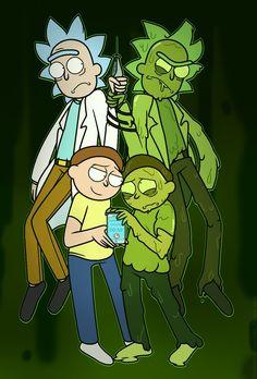 Toxic Rick and Morty