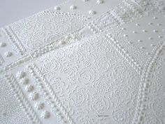 karen ruane: an abundance of white paper....