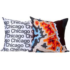 Chicago Map Pillows