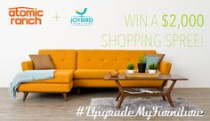 Show Joybird Your Digs and Bring That Midcentury Look Home...For Free!