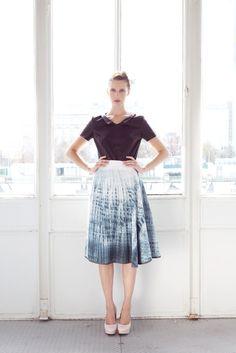 Summer 2014, Spring Summer, Midi Skirt, Skirts, Vintage, Style, Fashion, Moda, La Mode
