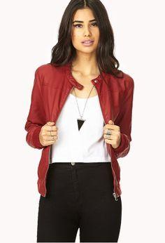 Leather jacket on Pinterest | Women Leather Jackets, Leather Biker ...