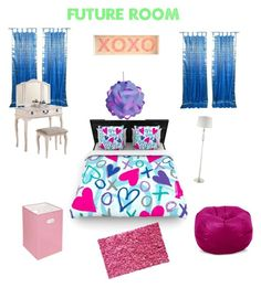"""""""♡My Future Bedroom♡"""" by caylon-payne ❤ liked on Polyvore"""