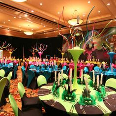 Everything from feathered table centres, multi coloured table linen and room decorations for Mardi Gras themed events. Bring the spirit of Carnival to your Rio Themed Corporate event Event Themes, Event Decor, Party Themes, Event Ideas, Party Ideas, Mardi Gras, Party Table Decorations, Wedding Table Centerpieces, Centrepieces
