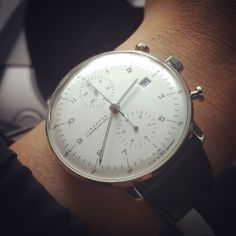 Like it or not..time change everything. Junghans Max Bill Chrono