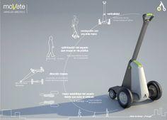 VEHICULO ELECTRICO UNIPERSONAL Personal mobility device by Sara Aletta de Sylvas at Coroflot.com