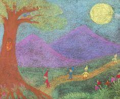About Waldorf Education Crayon Drawings, Chalk Drawings, Math Gnomes, Nature Story, Form Drawing, Circle Game, Chalkboard Drawings, Cultural Studies, Waldorf Education