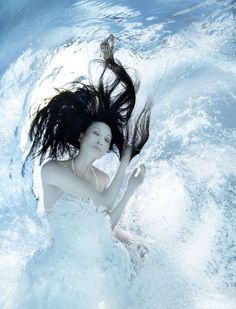 """In Norse mythology, Bylgja (""""Billow"""") is one of the Nine daughters of Ægir and Rán, God and Goddess of the Sea. Each daughter represents an aspect of Ocean Waves"""