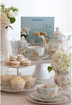 Simple pero completo Tea garden.