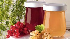 Ríbezlové želé s rozmarínom Berry, Pudding, Desserts, Food, Dips, Raspberries, Rosemary Recipes, Marmalade, You're Welcome