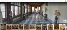Uffizi completamente visitabili in Google Street View