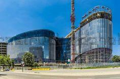 Office Building Architecture, Marina Bay Sands, Travel, Viajes, Destinations, Traveling, Trips