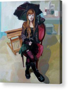 Portrait Acrylic Print featuring the painting Felice by Carmen Stanescu Kutzelnig Portrait Acrylic, Thing 1, Framed Prints, Canvas Prints, Acrylic Sheets, Pillow Sale, Got Print, Art Pages, Fine Art America
