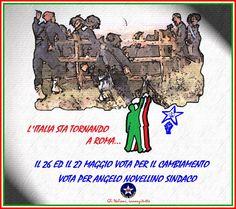 Manifesto l'Italia sta tornando | ITALIA REALE - Stella e Corona