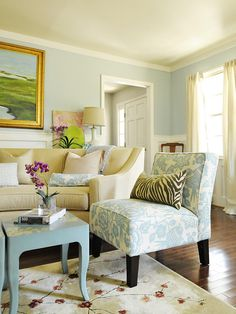 Traditional Living Room Design, Pictures, Remodel, Decor and Ideas - page  - love the color scheme