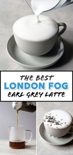 Best London Fog Recipe London Fog drink is an Earl Grey tea latte. Make London Fog at home with this simple yet tasty recipe. London Fog drink is an Earl Grey tea latte. Make London Fog at home with this simple yet tasty recipe. Hot Tea Recipes, Coffee Recipes, Drink Recipes, London Fog Recipe, Earl Grey Tee, Yummy Drinks, Yummy Food, Healthy Drinks, Smoothies