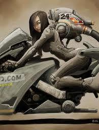 manga biker