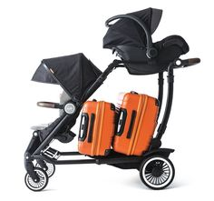 Pin for Later: Meet the Pack Mule of a Stroller That Can Carry Your Kids and All of Your Gear —Seriously