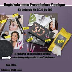 Kit de inicio para Presentadora Younique