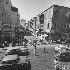 Old photo Beirut Lebnan