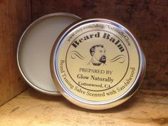 Beard Balm by NaturallyGlow on Etsy https://www.etsy.com/listing/213999204/beard-balm