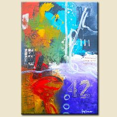 """Artist: Gino Savarino  Title: """"Here & There Moments""""  Size: 24"""" x 36"""" x 1.5""""  Gallery Price: 2800  Media: Mixed Media   Support: Stretched canvas   Created: NEW 2012  Edition: Original    READY TO HANG!!"""