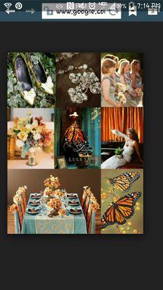 Monarch Butterfly Wedding