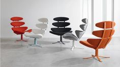 #CoronaChair #poulvolther #erikjorgensen #loungechair #decoration #replica http://www.diiiz.com/eng/product_details.html/16/corona-chair-poul-volter-erik-jorgensen-